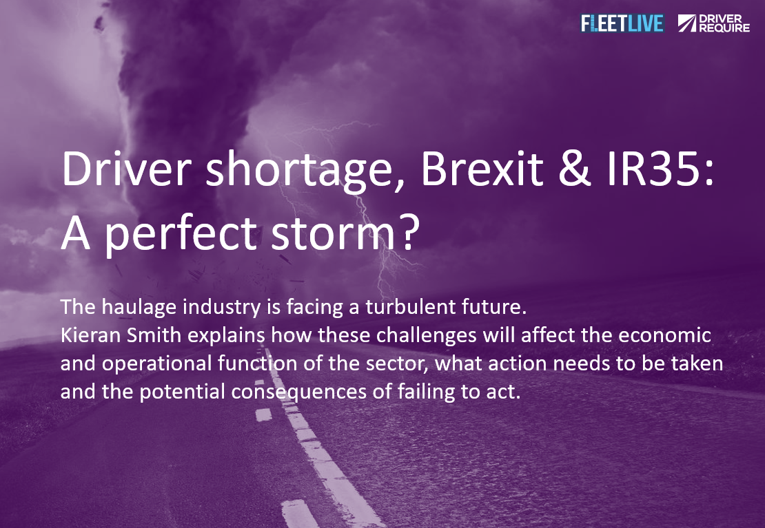 driver shortage brexit and IR35 A perfect storm?